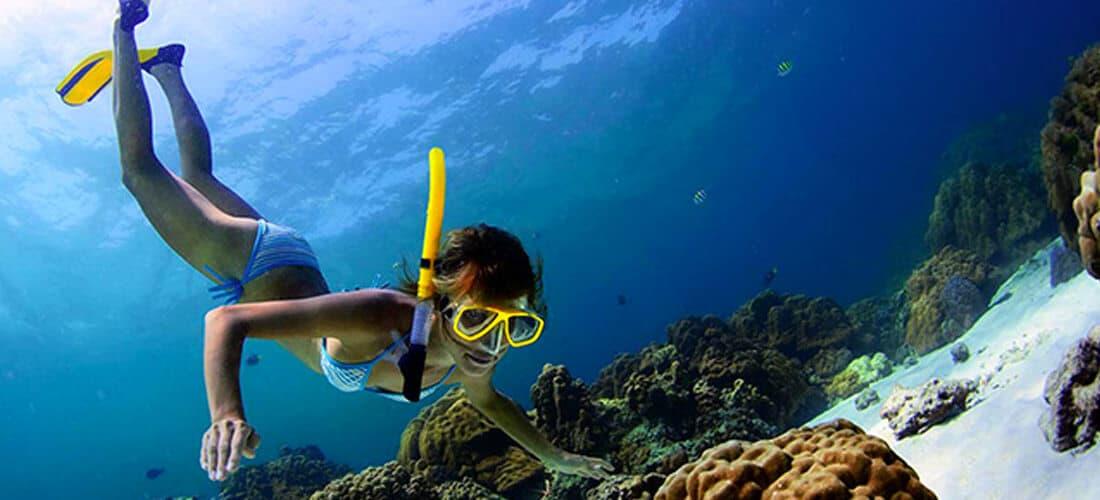 Snorkeling in Kalpitiya Lagoon