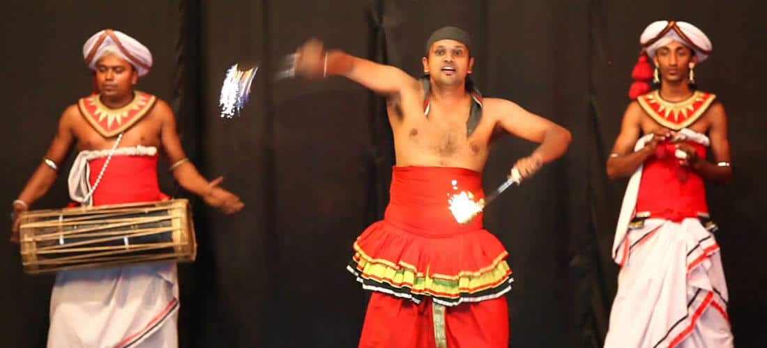 Traditional Sri Lankan Kandyan Dancing
